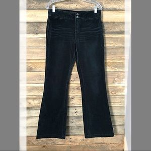 Express black velvet cotton stretch jeans